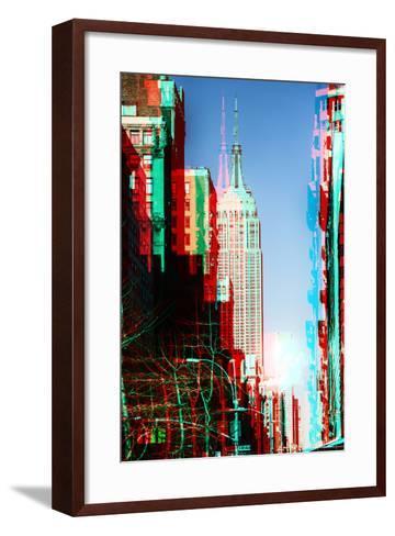 After Twitch NYC - Manhattan Winter-Philippe Hugonnard-Framed Art Print