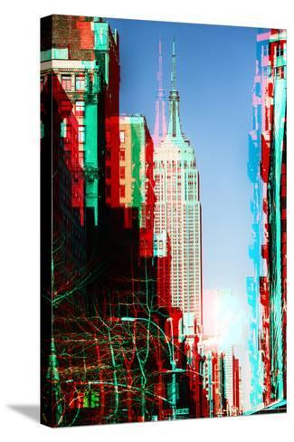 After Twitch NYC - Manhattan Winter-Philippe Hugonnard-Stretched Canvas Print