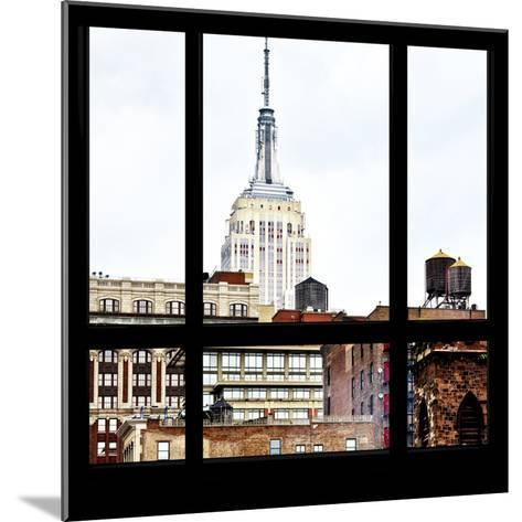 View from the Window - Empire State Building-Philippe Hugonnard-Mounted Photographic Print