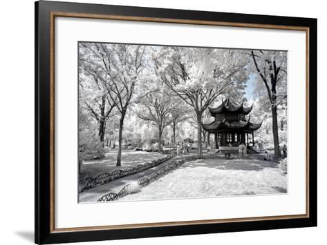 China 10MKm2 Collection - Another Look - Temple Park-Philippe Hugonnard-Framed Art Print