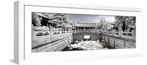 China 10MKm2 Collection - Another Look - Lotus Bridge-Philippe Hugonnard-Framed Art Print