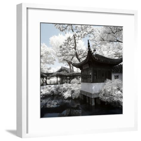 China 10MKm2 Collection - Another Look - Temple Lake-Philippe Hugonnard-Framed Art Print