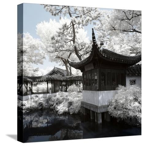 China 10MKm2 Collection - Another Look - Temple Lake-Philippe Hugonnard-Stretched Canvas Print