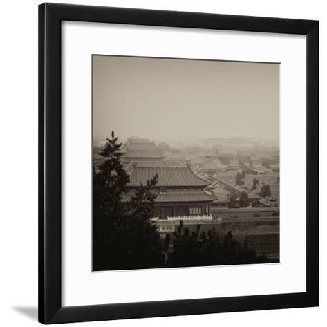 China 10MKm2 Collection - Forbidden City at sunset - Beijing-Philippe Hugonnard-Framed Art Print