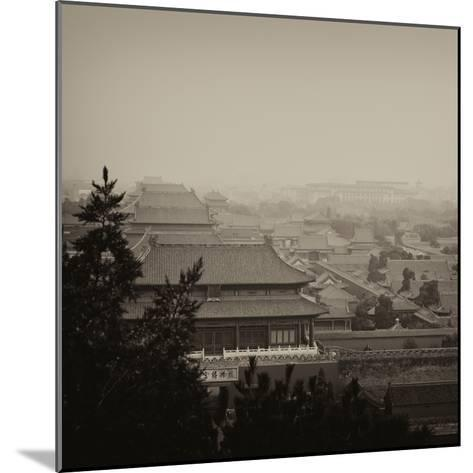 China 10MKm2 Collection - Forbidden City at sunset - Beijing-Philippe Hugonnard-Mounted Photographic Print