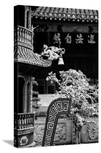 China 10MKm2 Collection - Detail of Brazier and Pagoda-Philippe Hugonnard-Stretched Canvas Print