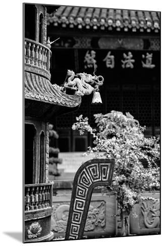 China 10MKm2 Collection - Detail of Brazier and Pagoda-Philippe Hugonnard-Mounted Photographic Print