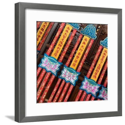 China 10MKm2 Collection - Detail of Buddhist Temple-Philippe Hugonnard-Framed Art Print