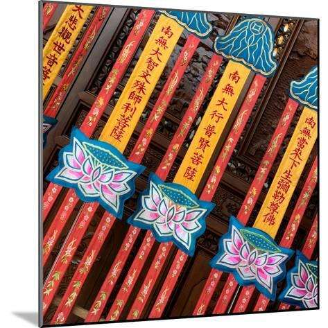 China 10MKm2 Collection - Detail of Buddhist Temple-Philippe Hugonnard-Mounted Photographic Print