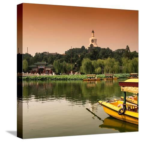 China 10MKm2 Collection - Beihai Park at Sunset - Beijing-Philippe Hugonnard-Stretched Canvas Print