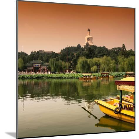 China 10MKm2 Collection - Beihai Park at Sunset - Beijing-Philippe Hugonnard-Mounted Photographic Print