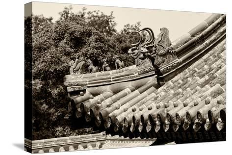 China 10MKm2 Collection - Detail of Lama Temple-Philippe Hugonnard-Stretched Canvas Print
