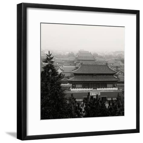 China 10MKm2 Collection - Forbidden City at sunset - Beijing-Philippe Hugonnard-Framed Art Print