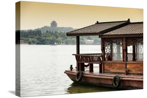 China 10MKm2 Collection - Chinese Traditional Boat-Philippe Hugonnard-Stretched Canvas Print