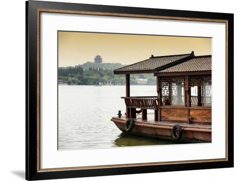 China 10MKm2 Collection - Chinese Traditional Boat-Philippe Hugonnard-Framed Art Print
