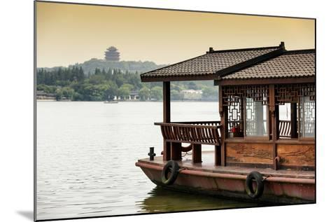 China 10MKm2 Collection - Chinese Traditional Boat-Philippe Hugonnard-Mounted Photographic Print