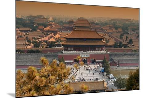 China 10MKm2 Collection - Forbidden City in autumn - Beijing-Philippe Hugonnard-Mounted Photographic Print