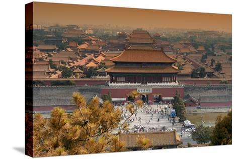 China 10MKm2 Collection - Forbidden City in autumn - Beijing-Philippe Hugonnard-Stretched Canvas Print