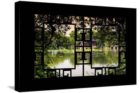 China 10MKm2 Collection - Asian Window - Chinese Natural Landscape-Philippe Hugonnard-Stretched Canvas Print