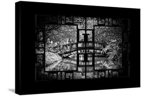 China 10MKm2 Collection - Asian Window - Romantic Bridge-Philippe Hugonnard-Stretched Canvas Print