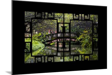 China 10MKm2 Collection - Asian Window - Romantic Bridge-Philippe Hugonnard-Mounted Photographic Print