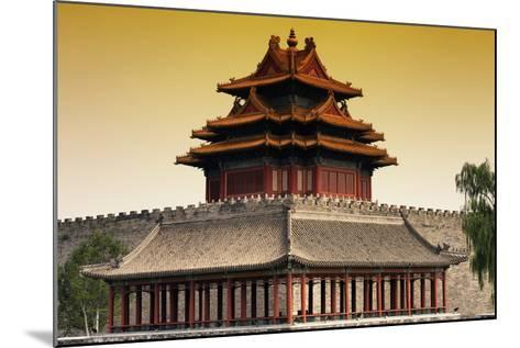China 10MKm2 Collection - Chinese Architecture at Sunset - Forbidden City - Beijing-Philippe Hugonnard-Mounted Photographic Print