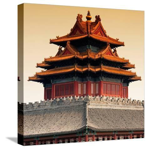 China 10MKm2 Collection - Chinese Architecture - Forbidden City - Beijing-Philippe Hugonnard-Stretched Canvas Print