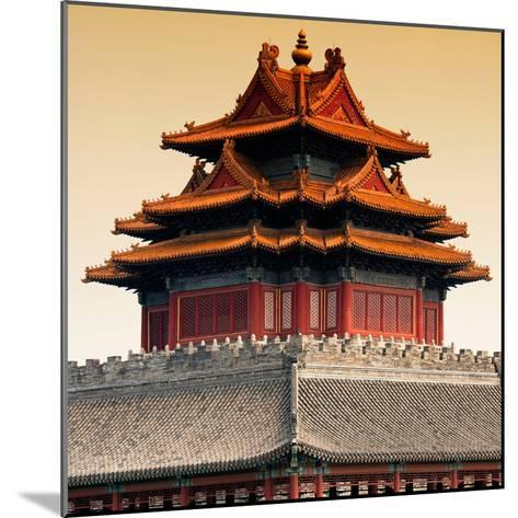 China 10MKm2 Collection - Chinese Architecture - Forbidden City - Beijing-Philippe Hugonnard-Mounted Photographic Print
