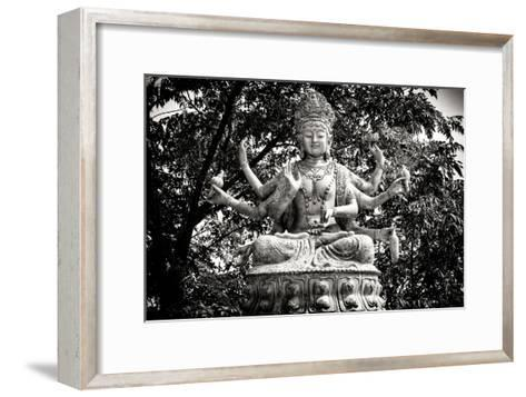China 10MKm2 Collection - Buddhist Statue-Philippe Hugonnard-Framed Art Print