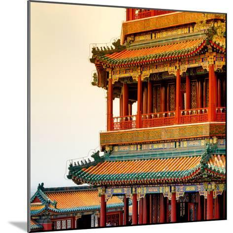 China 10MKm2 Collection - Detail of Summer Palace at sunset-Philippe Hugonnard-Mounted Photographic Print