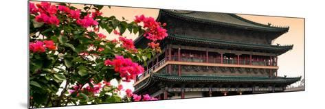 China 10MKm2 Collection - Bell Tower 14th Century-Philippe Hugonnard-Mounted Photographic Print