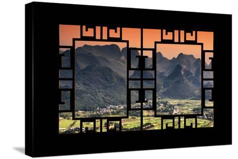 China 10MKm2 Collection - Asian Window - Guilin National Park-Philippe Hugonnard-Stretched Canvas Print