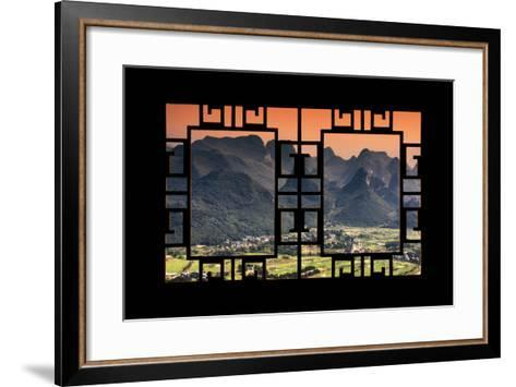 China 10MKm2 Collection - Asian Window - Guilin National Park-Philippe Hugonnard-Framed Art Print