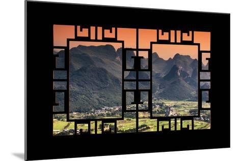 China 10MKm2 Collection - Asian Window - Guilin National Park-Philippe Hugonnard-Mounted Photographic Print