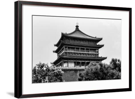 China 10MKm2 Collection - Bell Tower 14th Century-Philippe Hugonnard-Framed Art Print