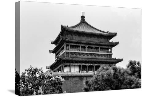 China 10MKm2 Collection - Bell Tower 14th Century-Philippe Hugonnard-Stretched Canvas Print