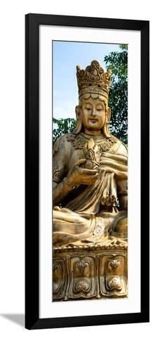 China 10MKm2 Collection - Buddhist Statue-Philippe Hugonnard-Framed Art Print