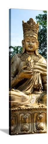 China 10MKm2 Collection - Buddhist Statue-Philippe Hugonnard-Stretched Canvas Print