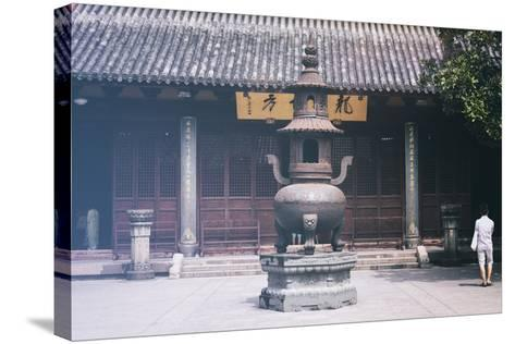 China 10MKm2 Collection - Buddhist Temple-Philippe Hugonnard-Stretched Canvas Print