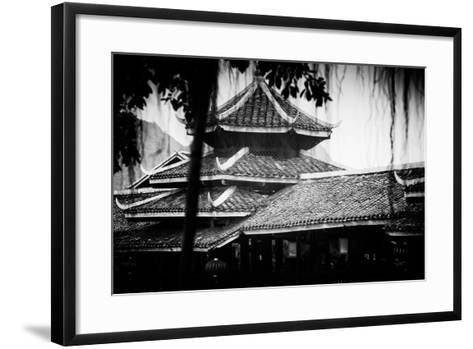 China 10MKm2 Collection - Chinese Buddhist Temple-Philippe Hugonnard-Framed Art Print