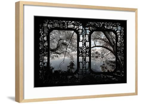 China 10MKm2 Collection - Asian Window - Another Look Series - White Thinking-Philippe Hugonnard-Framed Art Print