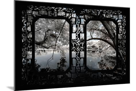 China 10MKm2 Collection - Asian Window - Another Look Series - White Thinking-Philippe Hugonnard-Mounted Photographic Print