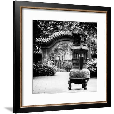 China 10MKm2 Collection - Chinese Brazier-Philippe Hugonnard-Framed Art Print