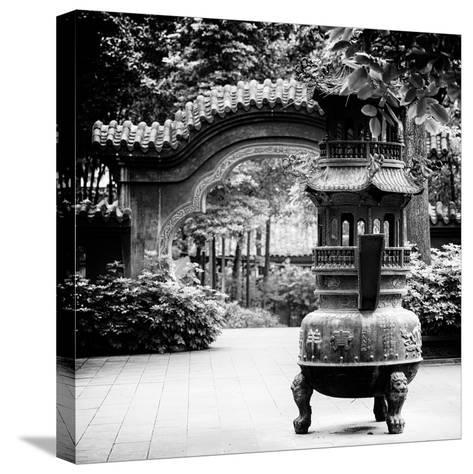 China 10MKm2 Collection - Chinese Brazier-Philippe Hugonnard-Stretched Canvas Print