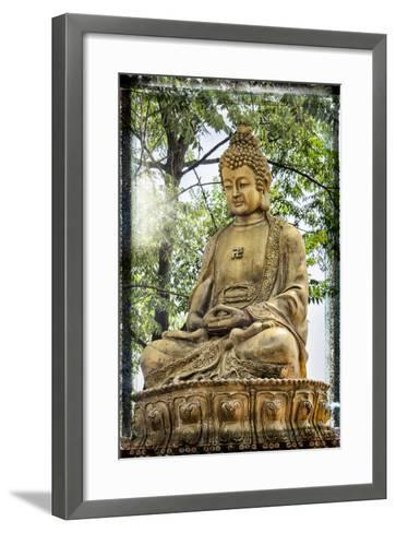 China 10MKm2 Collection - Buddha-Philippe Hugonnard-Framed Art Print