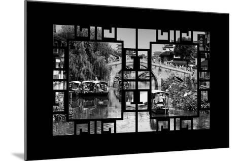 China 10MKm2 Collection - Asian Window - Shanghai Water Town - Qibao-Philippe Hugonnard-Mounted Photographic Print
