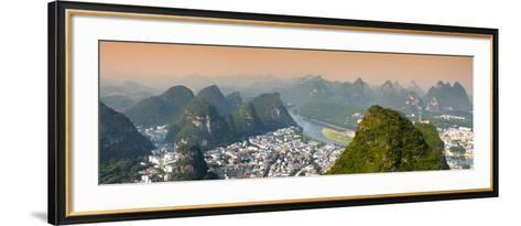 China 10MKm2 Collection - Beautiful Scenery of Yangshuo-Philippe Hugonnard-Framed Art Print