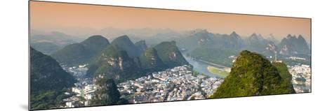 China 10MKm2 Collection - Beautiful Scenery of Yangshuo-Philippe Hugonnard-Mounted Photographic Print