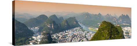 China 10MKm2 Collection - Beautiful Scenery of Yangshuo-Philippe Hugonnard-Stretched Canvas Print