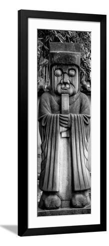 China 10MKm2 Collection - Chinese ancient Statue-Philippe Hugonnard-Framed Art Print